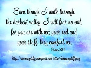 Psalms23.4