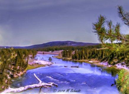 yellowstone_river_yellowstone_national_park_2014_by_mschmidtartwork-d7b47wi