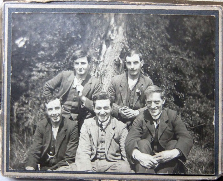 William Harold Goodman far left back row. 1000px