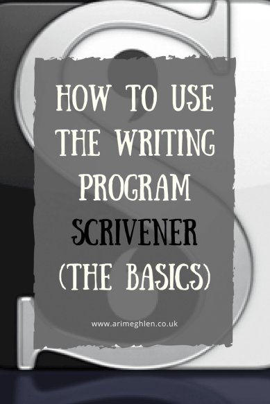 Title Image: How to use the writing program Scrivener (The Basics). Image: Scrivener Logo