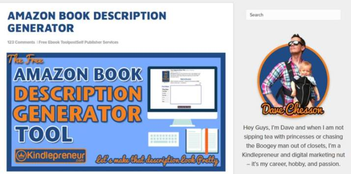 Book Description Generator