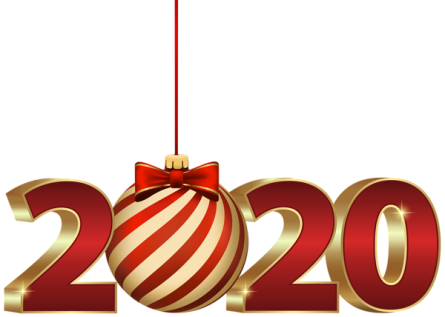 2020_with_Christmas_Ball_PNG_Clipart11